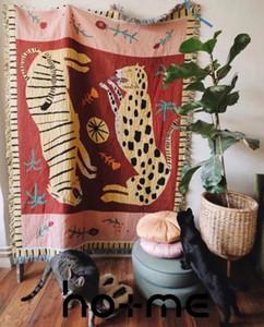 Leopard Гобелен Throw Одеяло для дивана Cobertor висячего Ковер кровати Plane Путешествия Одеяло подарок для девочек
