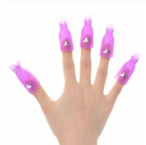 100pcs set Remover Gel Polish Degreaser Polish Remove Gel Nail Polish Clips Caps Nail Cleaner Gel Nail Remover Manicure Tools