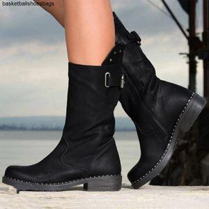 boots women Hot for Sale-low heel western boots cowboy womens snow women bota feminina salto