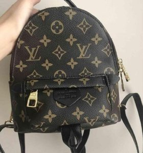 Hight quality Women's Palm Springs Backpack Mini genuine leather children backpacks women printing leather backpack