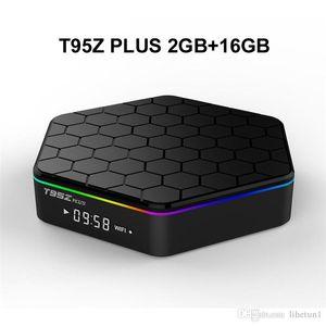 10PCS Original T95Z PLUS 2G 16G Android 7.1 TV BOX Amlogic S912 Octa Core 2.4G 5G WiFi Bluetooth Media Player