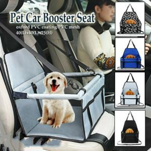 Voltar animais de estimação Segurança Waterproof Faltbar Box Oxford Pano Dog Mats Car Hammock Protector Rear Seat Cover