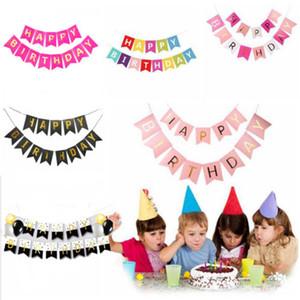 Овсянка Баннер Флаги Garland Свадебная Baby Shower день рождения Висячие Декор