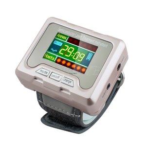Alta Pressão Arterial diabéticos Diabetic Assista multifunções relógio de pulso alívio da dor rinite dispositivo de terapia de Laser Hipertensão