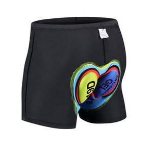 Cyclisme Shorts Bicycle Coussin Silicone Coussin Mountain Road Shorts Riding Sport Compression Collant Sous-vêtement avec rembourré pour hommes
