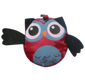 Tote Owl Shopping Sac à provisions Sac de forme pliable Shopping Owl Cartoon Épicerie Organisation Réutilisable GGA3203 Sacs de rangement Sacs Cuisine Sacs Waterproo Pttl