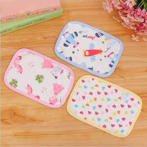 1 Pair Cotton Baby Teething Pad safety Sucking Pad slobber Towel Straps Dedicated Carrier Saliva 674275