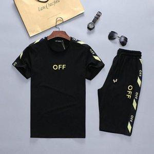 Fashion Men's designer summer sports suit T-shirt and shorts jogging 3D printing suit Medusa men's casual suit HMTZ6