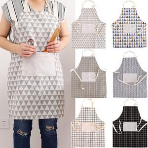 Neuer Haushalts-Merchandises Plaids gestreifte Baumwollleinenschürze Reinigungswerkzeug für Heim Kochen Backen Reinigungs-Zubehör