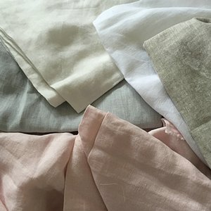 100% French Linen Fabric 280cm Width Use For Linen Bedding Set