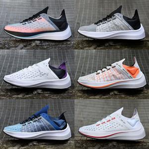 Zapatos corrientes atléticos translúcido EXP X14 Racer para hombre de la Mujer Negro Blanco EXP-X14 zapatillas de deporte de zoom de la mosca de los diseñadores entrenadores deportivos Zapatos