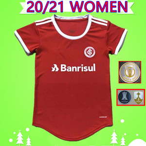 2020 2021 Women SC Internacional soccer jerseys Brazil ladies N.LOPEZ M.Sarrafiore GUERRERO PORRKER 20 21 girls football shirts thai quality