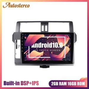 DSP Android 10,0 Car DVD GPS de navegação Para Prado 150 2.014-2.017 Chefe Recorder Unit Auto Radio Player Multimedia