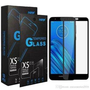 Bubble Free Anti Scratch en verre trempé Protecteur d'écran pour Samsung A11 A21 A31 S10 Lite Note 10 Lite Cover Noir bord