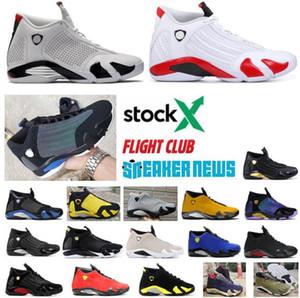 Novas 14s Jumpma Homens Basketball ShoesSup Preto Last Shot Indiglo Trovão Grey Mens Branco 14 Sneakers Esportes designer com Box