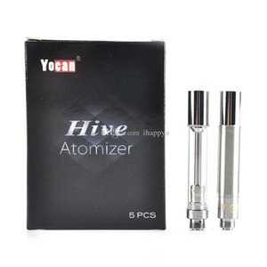 100% Original Yocan Hive Atomizers Wax Vaporizer & Oil Cartridges No Leakage Design for Yocan Hive 2in1 kit tank Genuine 2204033