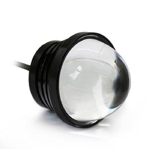 2 adet Spot DRL Motosiklet Eagle Eye lambası + Gündüz Çalışan Işık LED Araba Vida Lambası Kaynağı Gündüz Farları 12 v Otomobil