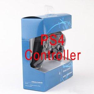 Controlador inalámbrico Bluetooth para PS4 vibración palanca de mando del cojín del juego de Gamepad para Sony Play Station con la caja al por menor