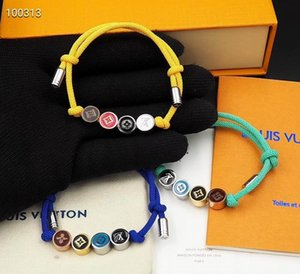 mode nouvelles femmes d'hommes Bijoux Métal perles perles Bracelets Bohème réglable Bracelet Hollywood