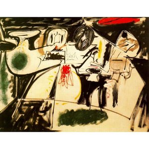 Arshile Gorky oil painting Ultima pintura hand painted modern artwork abstract paintings for wall decor