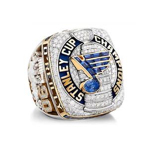 2019 St. Louis Blues Championship Ring Neueste Design Mode Männer Ring Fans Beste Geschenke Größe 8-14 # Hübscher Ring