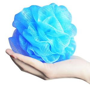 100pcs Çoklu Renkler 15g Banyo Duş Sünger Pouf süngerler Naylon Mesh Fırça Duş Topu Dantel Kenar Mesh Banyosu