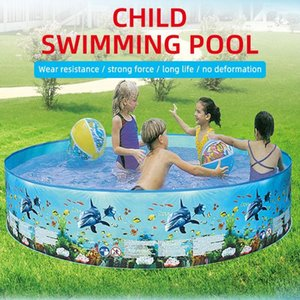 No Inflation 1 Set Blue Child Swimming Swimming Pool Free Inflatable Children'S Ball Pool Antibacterial Funny Beach