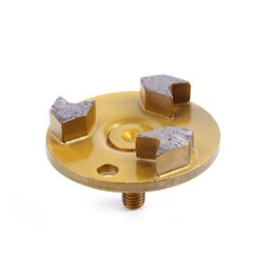 KD-T40 9 штук 3-дюймовый D80mm Универсальный алмазный шлифовальный круг с одним штифтом Алмазный шлифовальный диск для бетона и терраццо