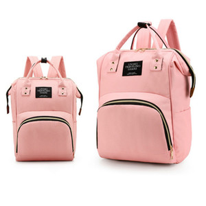 2020 Fashion Mummy Bag Diaper Bags Large Capacity Multi-function Backpack Bags Outdoor Mother Baby Waterproof Maternal Bottle Diaper Bags