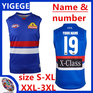 2019 WESTERN BULLDOGS GUERNSEY West Coast Eagles Guernsey Adelaide Crows Collingwood Magpies Hause Eddie Betts AFL-Jersey-Größe S-3XL
