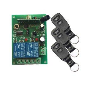 DC12V 2CH 10A sistema de comutação de controlo remoto sem fios teleswitch transmissor + 1X Receptor retransmitir casa z-ondas inteligente