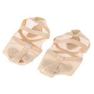 Ayakkabı Dans Aksesuar Topuk Koruyucu Nefes Bale Dans Çorap Dans Ayak Thong Burun Pad Kadın Güzellik Sağlık