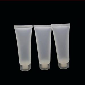 Винтовой колпак / Флип крышка Cosmetic мягкая трубка пластиковые контейнеры Лосьон Empty Макияж Squeeze Tube Refilable бутылки Эмульсия крем пакет DHL Free
