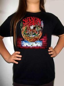 saxon Forever Free BLACK t-shirt SAXON BAND clothing boy girl kids children