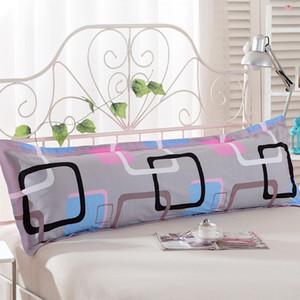 Poszewki Na Poduszki Body Pillow крышка 100% хлопок Длинные наволочки тела на кровать машинную стирку Подушка Протекторы Нет Zipper Case