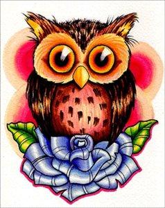 DIY 5D diamante padrão pintura Cross Stitch Owl Mosaico diamante Bordados Costura presentes strass Home Decor