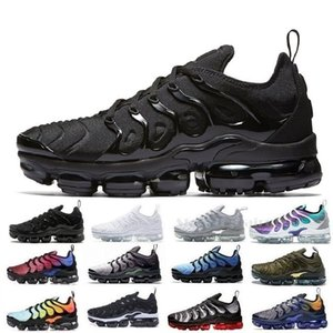 Nike Air Max Vapormax TN Plus Scarpe da corsa per uomo Donna Royal Smokey Mauve String Colorways Verde oliva Metallizzato Designer Triple Nero Bianco Allenatore Sneakers sportive