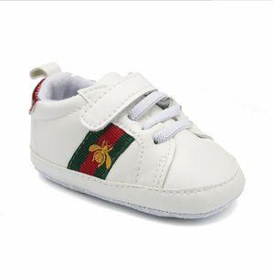 17 Styles Baby Soft Bottom Sneakers Scarpe Moda Ragazzi Ragazze Primi Camminatori Scarpe Infantili Indoor antiscivolo Toddler Casual Bambini ape Scarpe