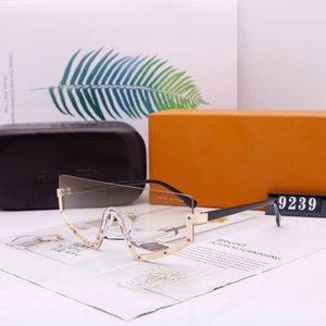 Half Frame Sunglasses Men Women Driving Sunglass Fashion Oversized Mens Womens Outdoor Sun Glasses Avant-garde UV400