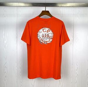 2020sss nuevo diseño y fabricación de C.p.company 2020 verano nueva impresión botón 020 de manga corta camiseta