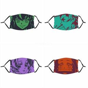 Maske Fa Außen Fa Masken-Party-Stellen Cotton Fasion Printed Maske Staubdichtes Warmt Individl Printed Mask # 202