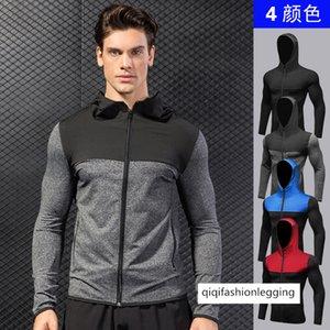 Male Money Sports Coat Fitness Running Training Zipper Leisure Lian Hoodie Defense Wind Speed Dry Coat 9003