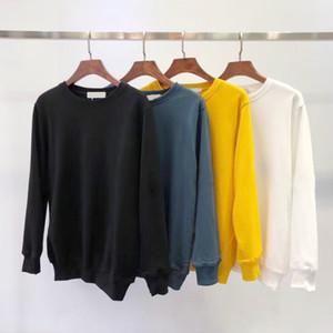 New Fashion autunno inverno Uomo 108 Felpa con cappuccio manica lunga Hip Hop Felpe cappotto abbigliamento casual maglione maglione S-2XL # 811
