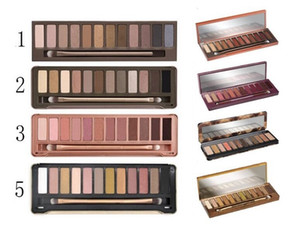 New Honey Eyeshadow Palette 12 colori Eye Shadow 1a 2a 3a 3a Maquillage Palette NK NK Miele Palette di alta qualità con spazzola DHL