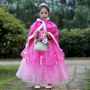 Girl's Bow Princess Dress Evening Dress Children's Pettiskirt Dress Skirt Performance Skirt Halloween Pettiskirt Free Shipping