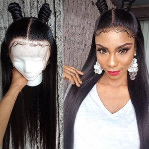 10A Brazilian Hair Straight Human Hair Wigs with Baby Hair Kinky Curly 4*4 Lace Front Wigs Body Wave Wholesale Price