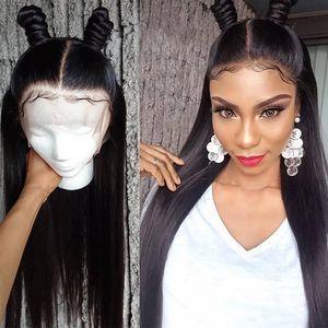 10A Capelli brasiliani Parrucche dei capelli umani diritti con i capelli del bambino Kinky ricci 4 * 4 parrucche anteriori del merletto Onda del corpo all'ingrosso Prezzo