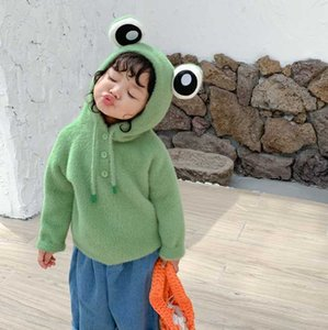 2020 ins Autumn And Winter Sweater Pure Cotton Round Neck Sweater Children Rendering Kn