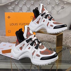 En Yeni Lüks ACE Archlight Sneaker Kadınlar Erkekler Açık Moda Spor Ayakkabı Siyah Beyaz Açık Yürüyüş Lover Ayakkabı baba yürüyüş ayakkabıları Koşu