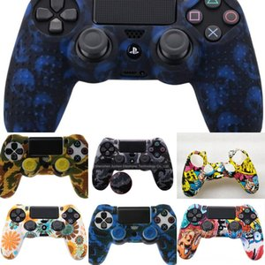 acsc5 Chrome Paint Skin Housing Shell Case Cover For 4 PlayStation Sony PS4 Controller